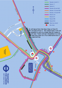 archway-proposed-bus-map w5 41 leave