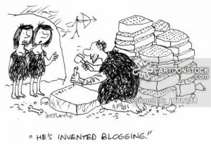 'He's invented blogging.'