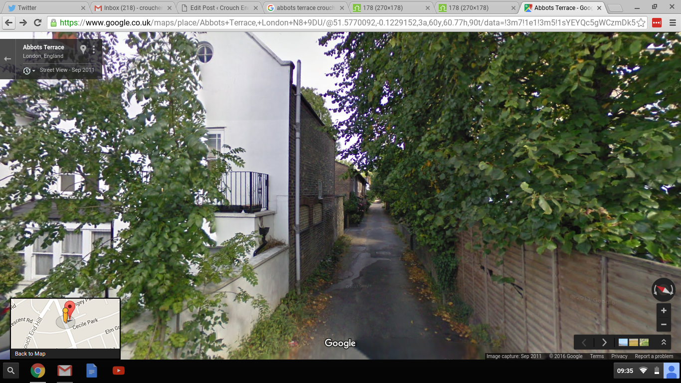 Abbot's Terrace from Google Street View