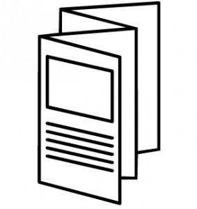 brochure clipart