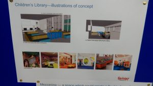 Children's Library - concept