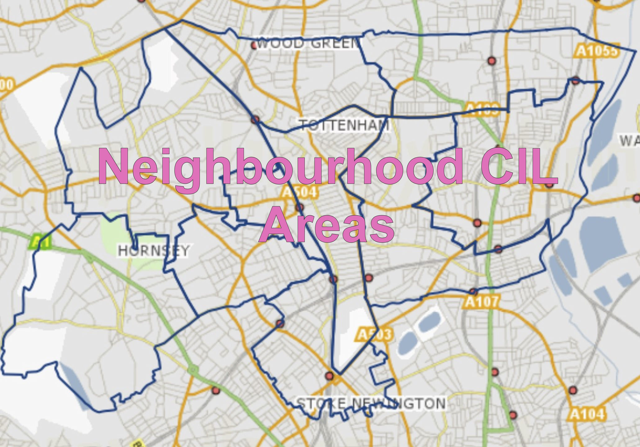 neighbourhood cil areas